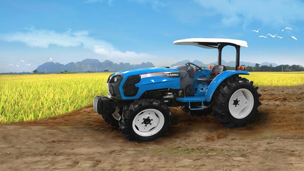Thaco Trường Hải chính thức sản xuất máy nông nghiệp